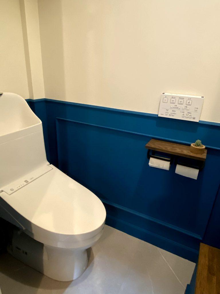 株シードライブのトイレ